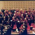 Dick Zevenbergen 25 jaar dirigent 04-11-2000